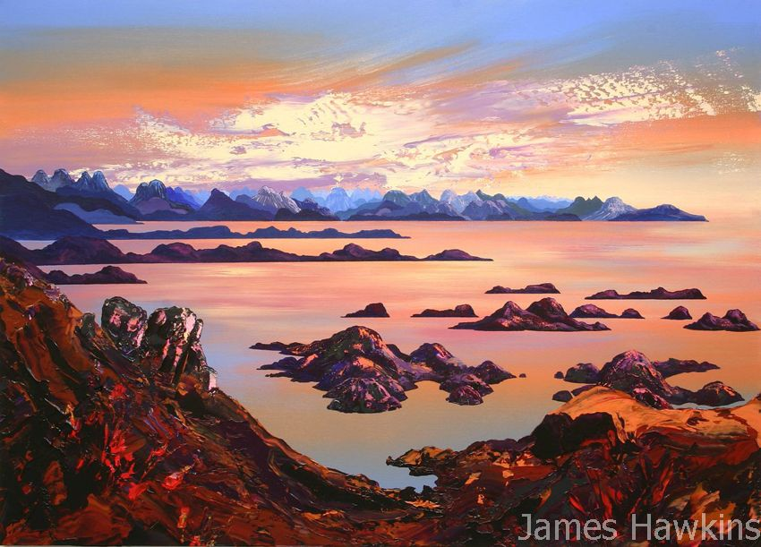 The Summer Isles Late Evening