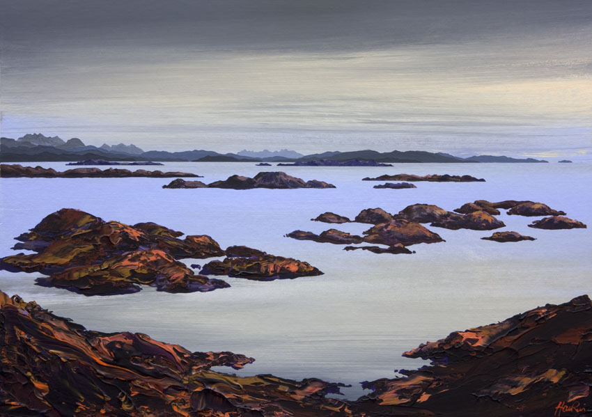 Tanera Mor and the Summer Isles from Old Dornie