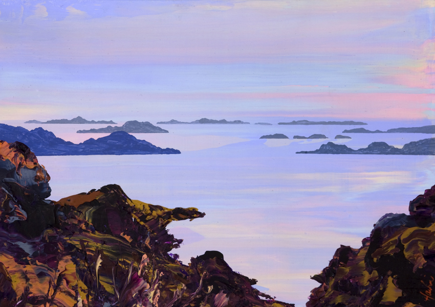 The Summer Isles from Rhue Hill