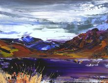 An Teallach from Knockdamph Later on